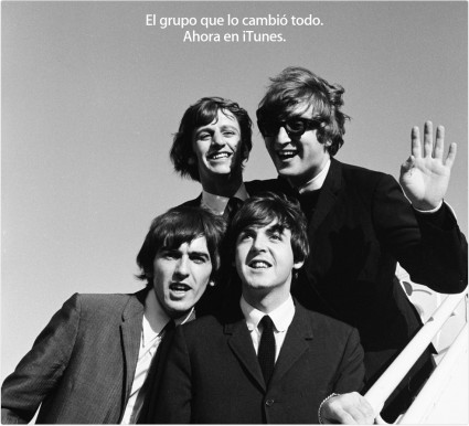 The Beatles en iTunes