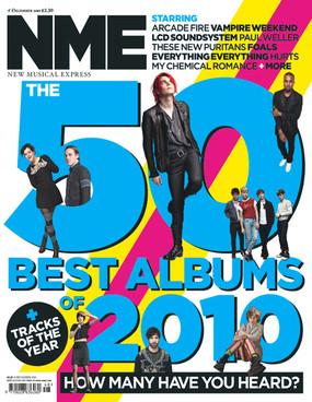 Mejores álbums NME 2010