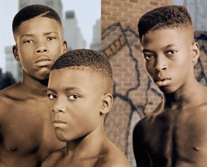 3 Chicos Negros
