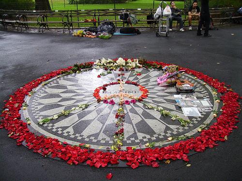 Imagine, en Central Park
