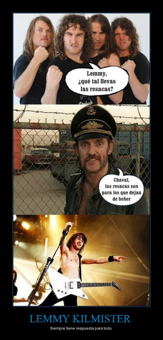 Airbourne y Lemmy Kilmister