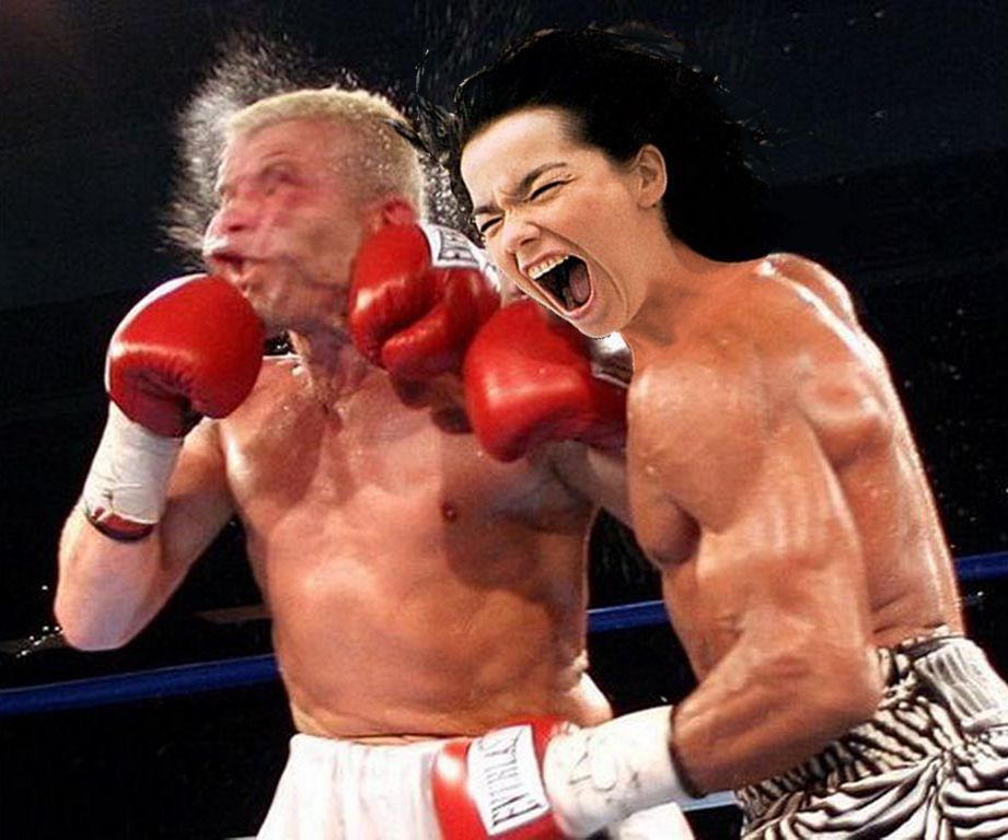 Björk fighting