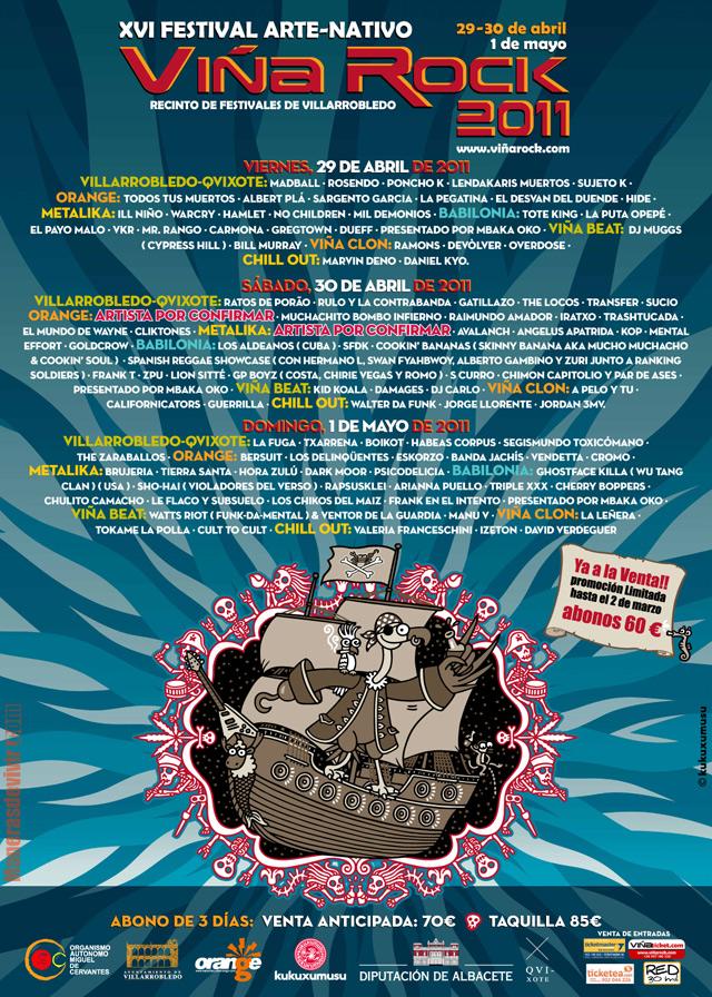 Viña Rock 2011