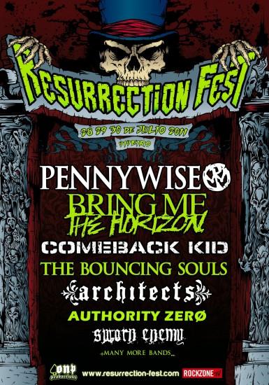 Cartel provisional Resurrection Fest