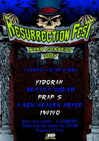 ResurrectionFest Band Contest España - A Coruña