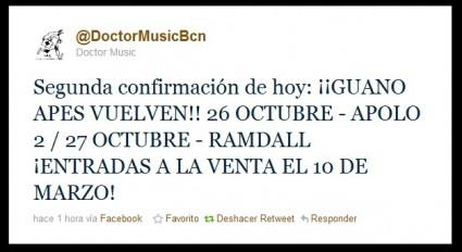 Imagen Twit Doctor Music