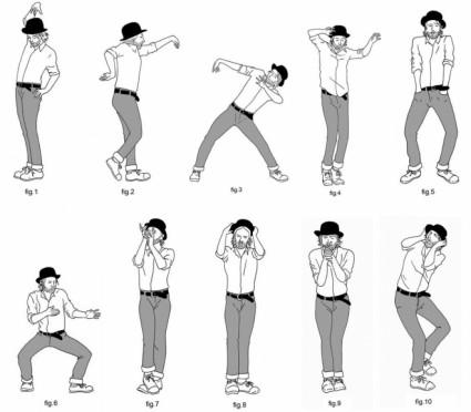 Movimientos de baile