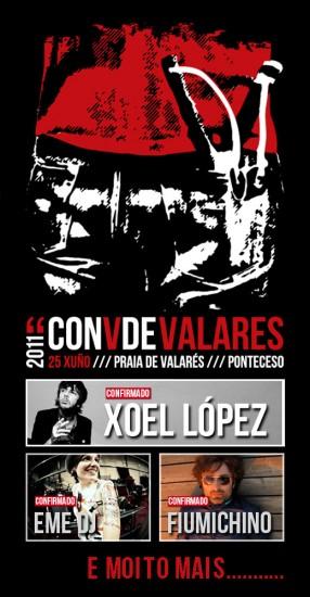 Cartel de ConVdeValares 2011