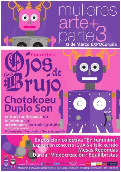 Cartel Mujeres Arte+Parte