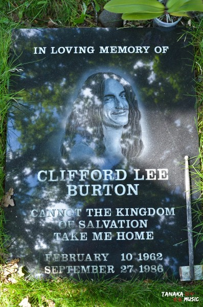 Cliff Burton memorial - Ljungby, Sweden