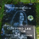 Cliff Burton memorial - Ljungby, Sweden (9)