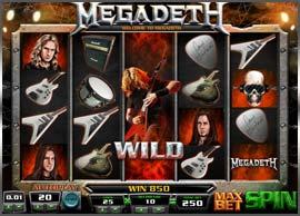 Tragaperra de Megadeth