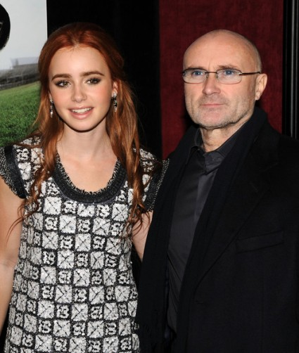 Lilly y Phil Collins