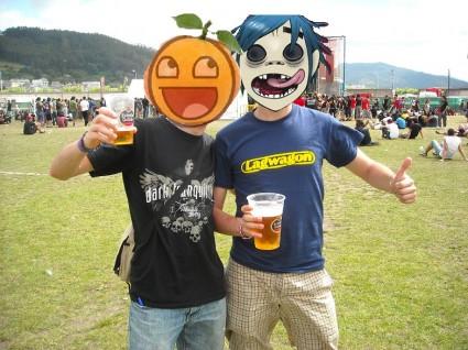 Mandarinas y JJ