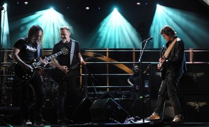 Metallica con Lou Reed