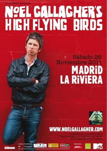 Noel Gallagher's en Madrid