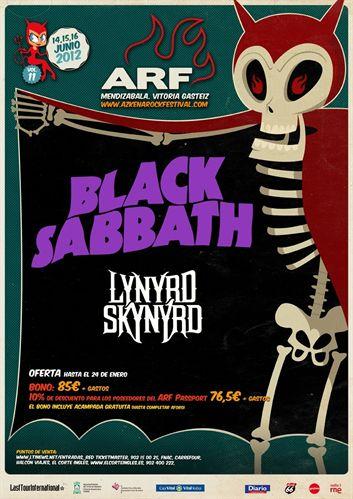 Azkena Rock 2012 - Cartel