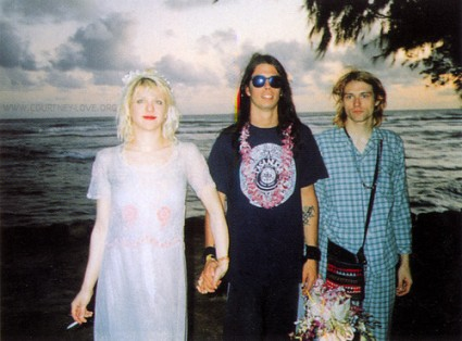 Courtney Love, Dave Grohl, Kurt Cobain