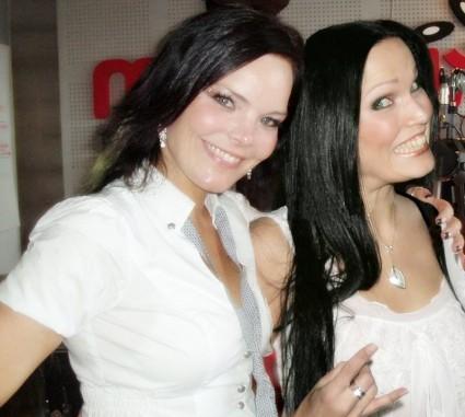 Anette Olzon y Tarja Turunen