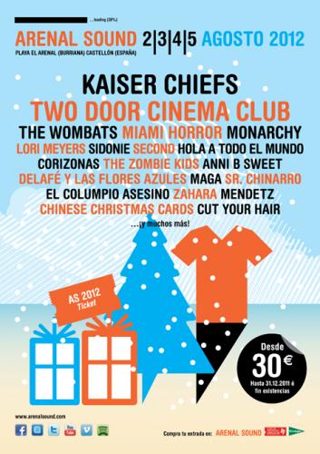 Arenal Sound 2012 - Kaiser Chiefs