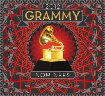 Grammys 2012 logo