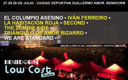 Low Cost Festival - Cartel