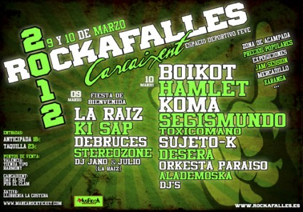 Rockafalles 2012