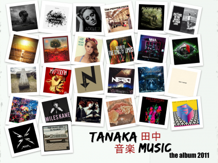 Tanaka Music - The Album 2011