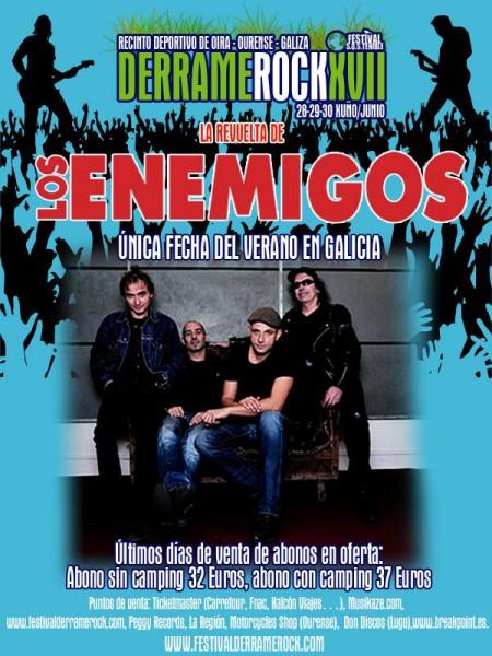 Derrame Rock - Los Enemigos