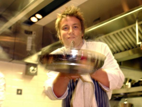 Jamie Oliver Cooking