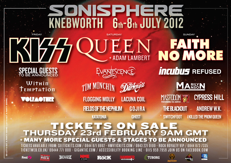 Sonisphere UK