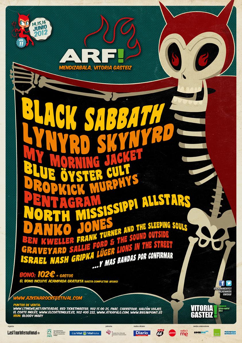 Azkena Rock 2012