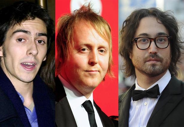 Dhani Harrison, James McCartney y Sean Lennon