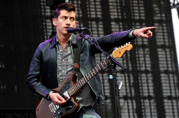 Alex Turner de los Arctic Monkeys