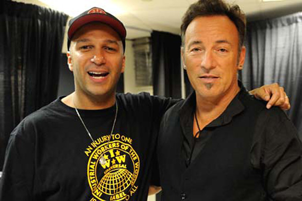 Bruce Springsteen Tom Morello