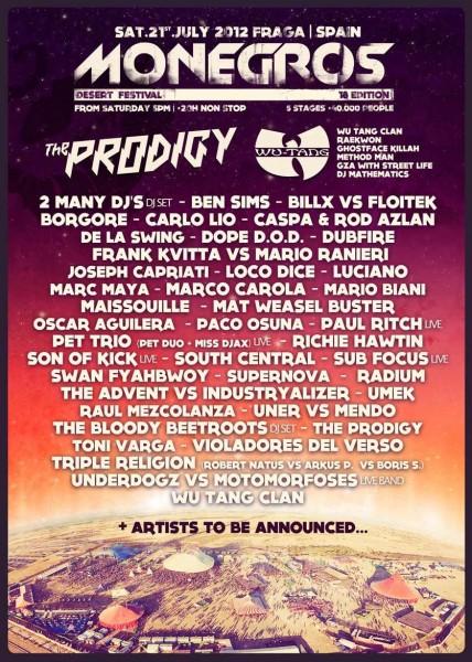 Monegros Desert Festival 2012