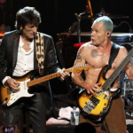 Ronnie Wood y Flea