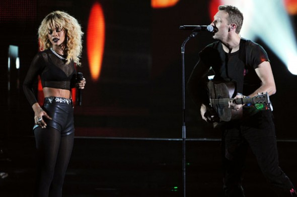 Rihanna y Coldplay