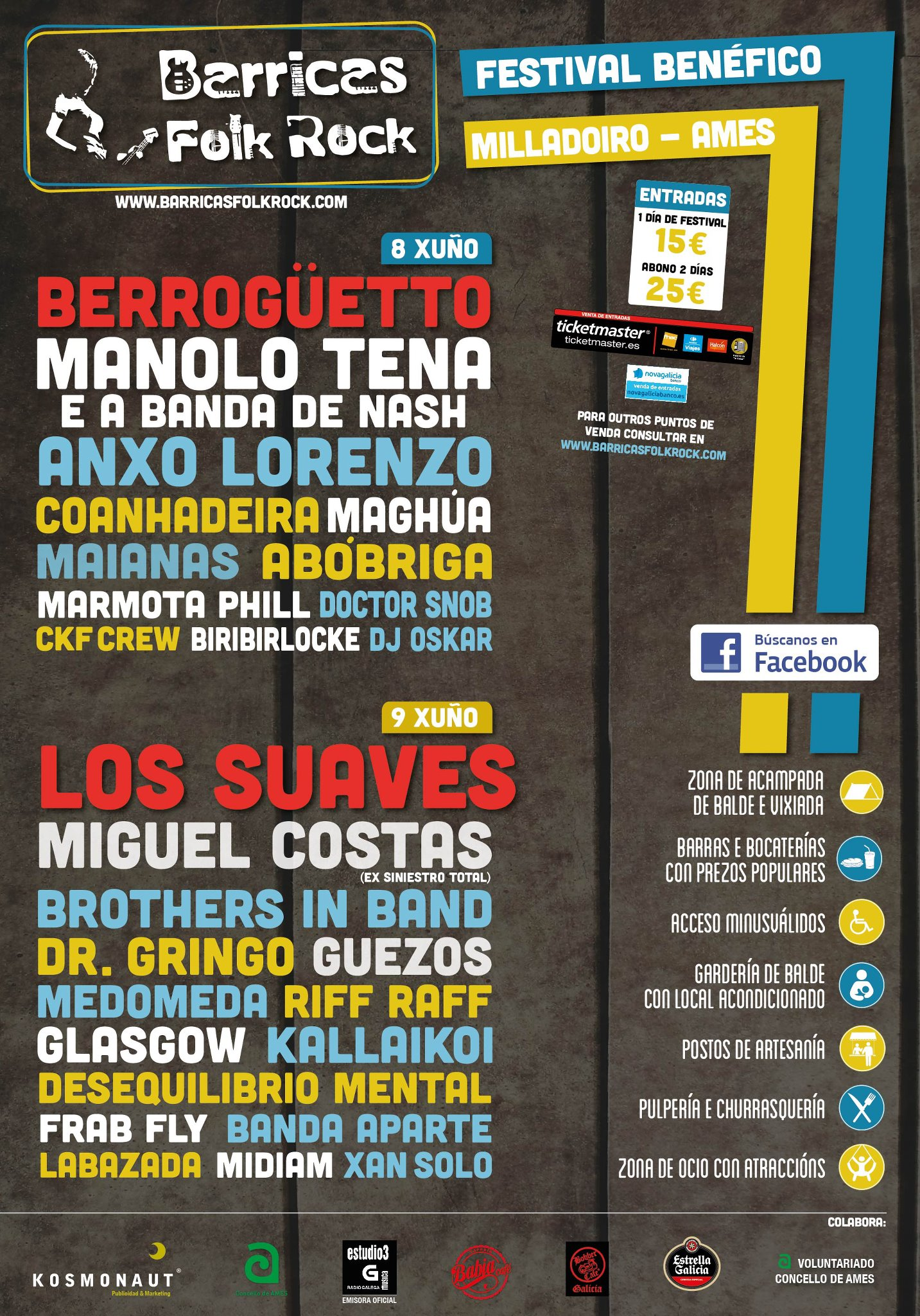 Barricas Folk Rock 2012