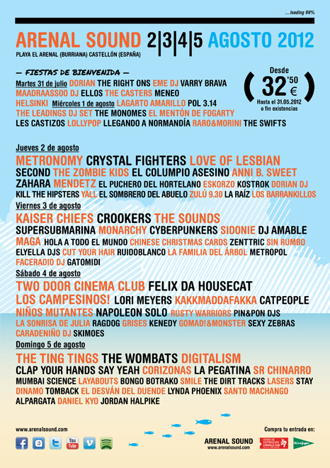 Cartel Arenal Sound