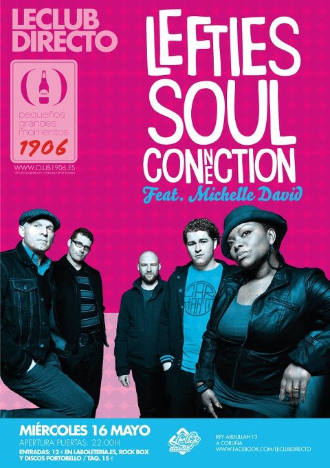 Lefties Soul Connection & Michelle David