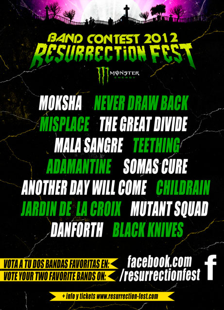 Resurrection Fest Band Contest