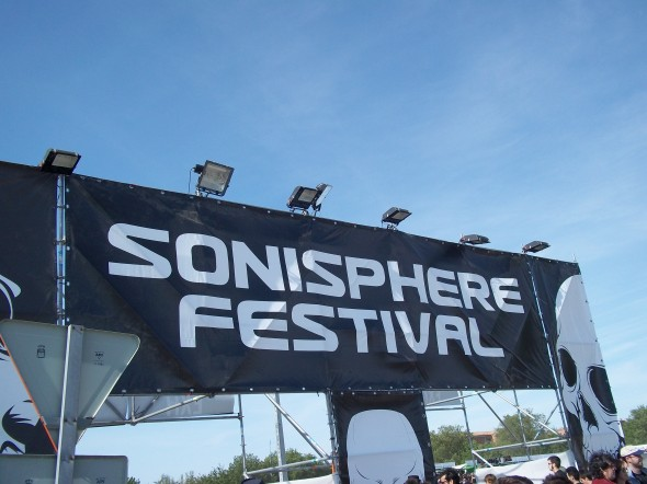 Sonisphere entrada
