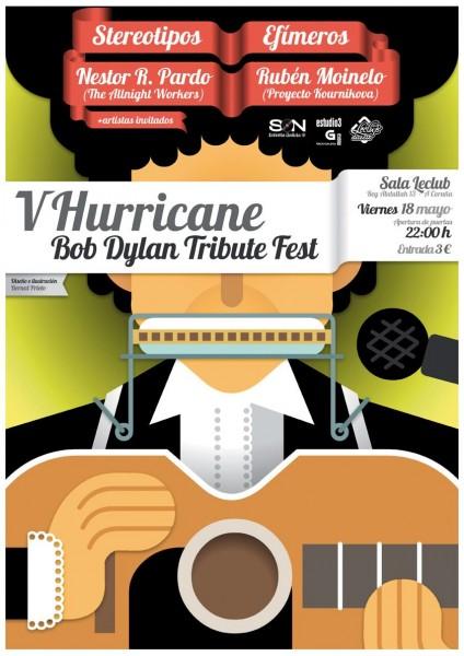 V Hurricane Bob Dylan Tribute Fest