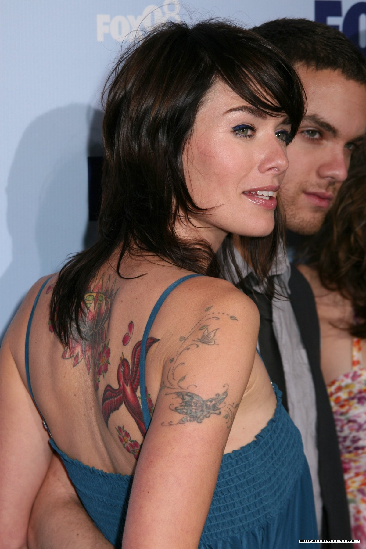 The tattoos of Lena Headey
