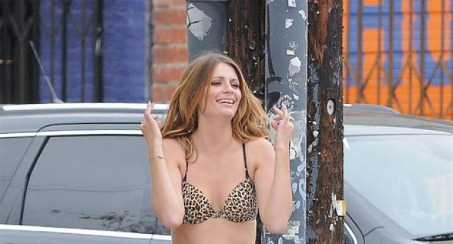 Mischa Barton Noel Gallagher's High Flying Birds