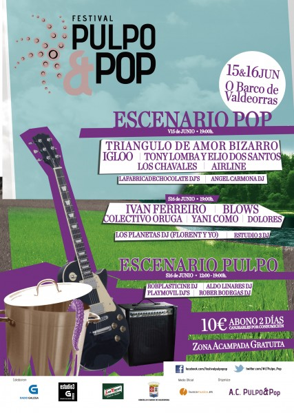 Pulpo&Pop - Cartel