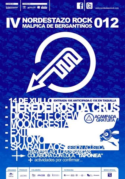 Cartel del Nordestazo Rock 2012