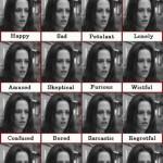 Expresión facial de Kristen Stewart