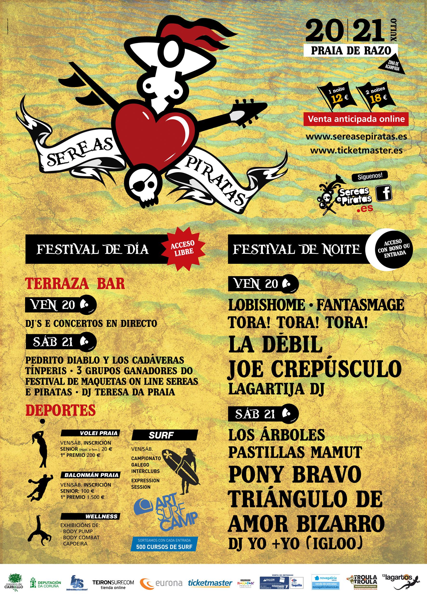 Sereas e Piratas 2012